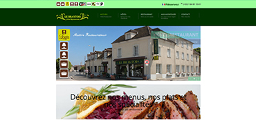 Cr ateur de site internet 123 agency web for Site web pour hotel