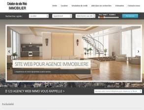 site web immobilier